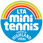 mini tennis logo