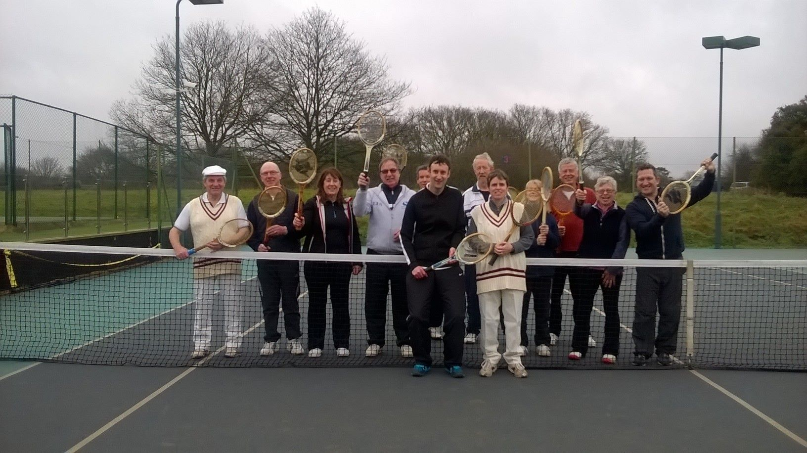 Wooden racket tournament from last year